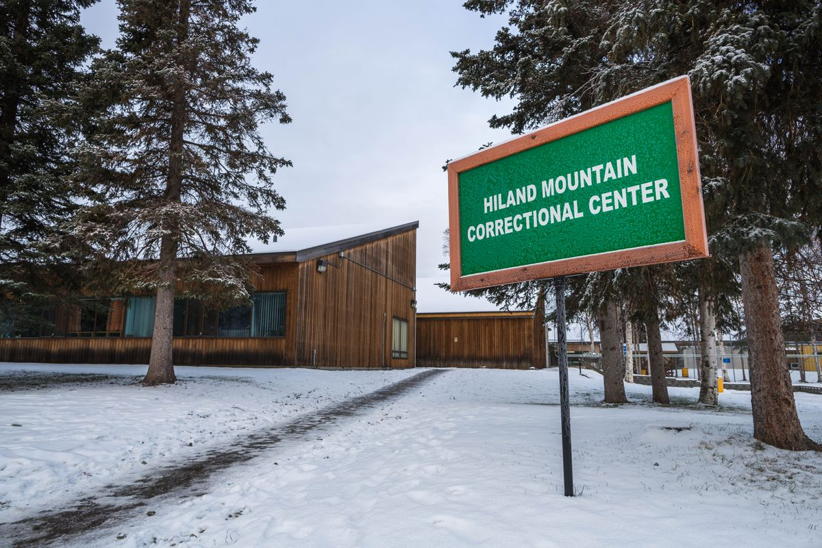 Hiland Mountain Correctional Center, November 2012. (Loren Holmes / ADN archive)
