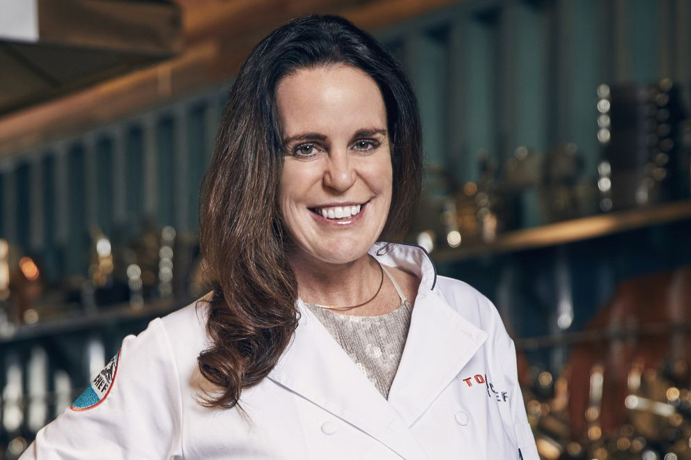 """Alaska chef Laura Cole is in season 15 of """"Top Chef."""" (Photo by Tommy Garcia / Bravo)"""