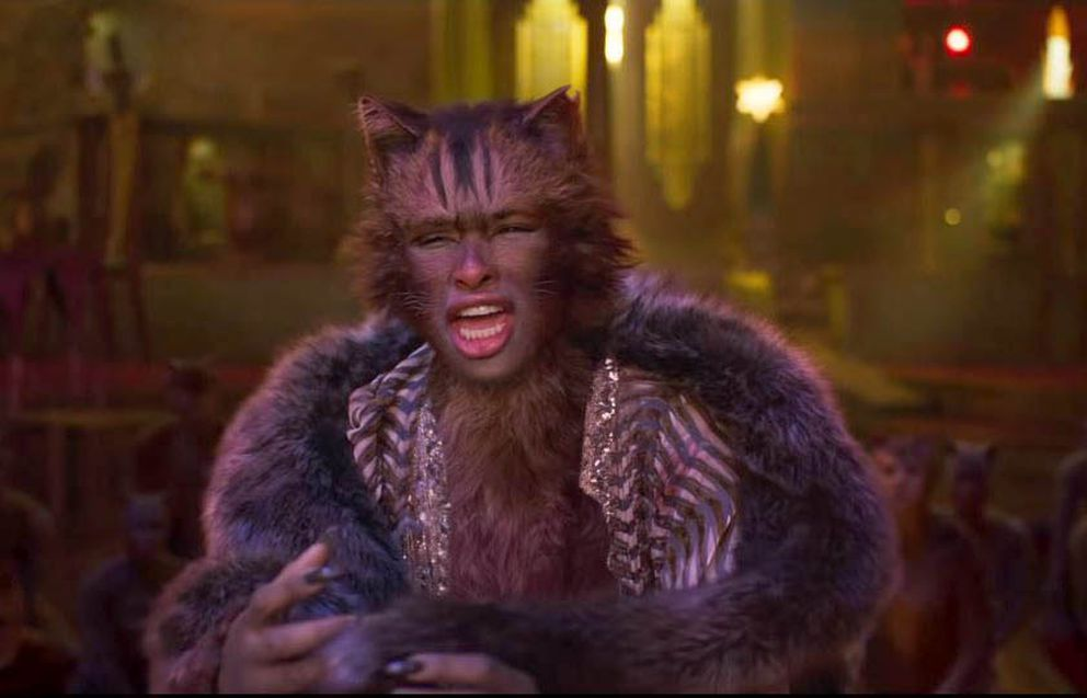 Jennifer Hudson in 'Cats. ' (Universal Pictures)