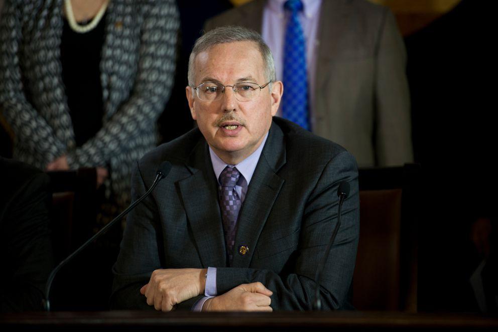House Speaker Bryce Edgmon, D-Dillingham(Marc Lester / Alaska Dispatch News)
