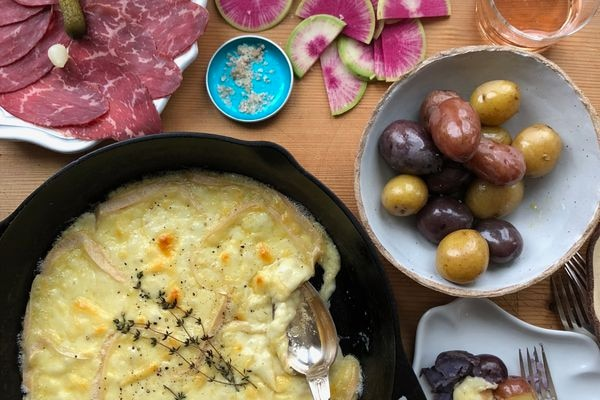 Raclette is both the name of a cheese and a beloved dish. (Photo by Kim Sunee)