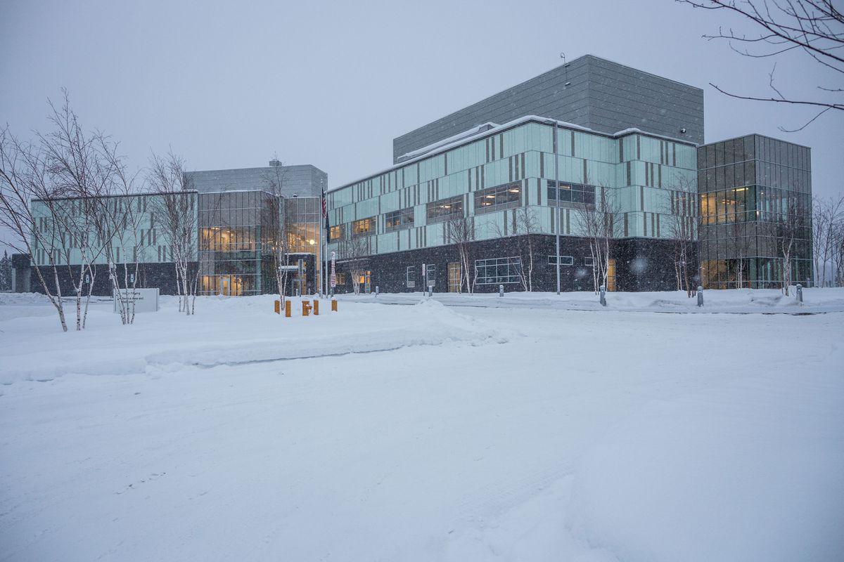 The Alaska Scientific Crime Detection Laboratory. Photographed Jan. 14, 2014. (Loren Holmes / Alaska Dispatch News)