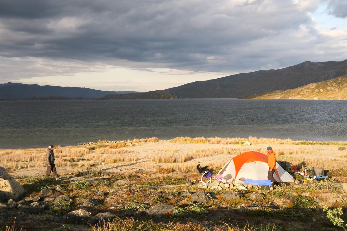 After beach camping, the author encountered something that was not on her list of