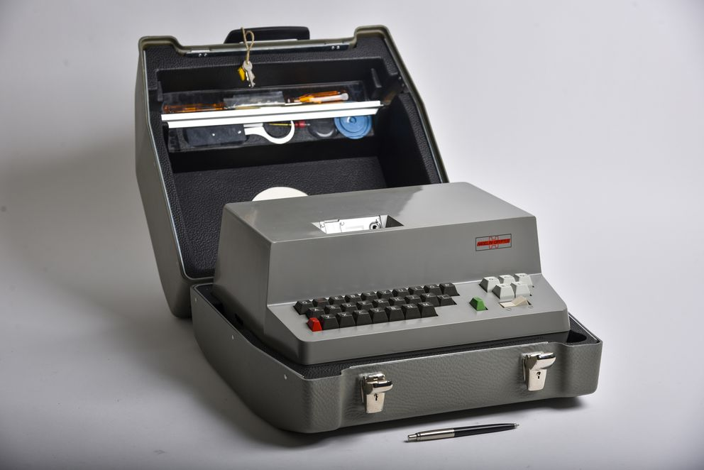 In 1967, Crypto released the H-460, an all-electronic machine whose inner workings were designed by the NSA. MUST CREDIT: Washington post photo by Jahi Chikwendiu