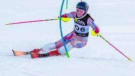 At the Alaska alpine ski championships, a U12 girl beats all the older kids, including the boys