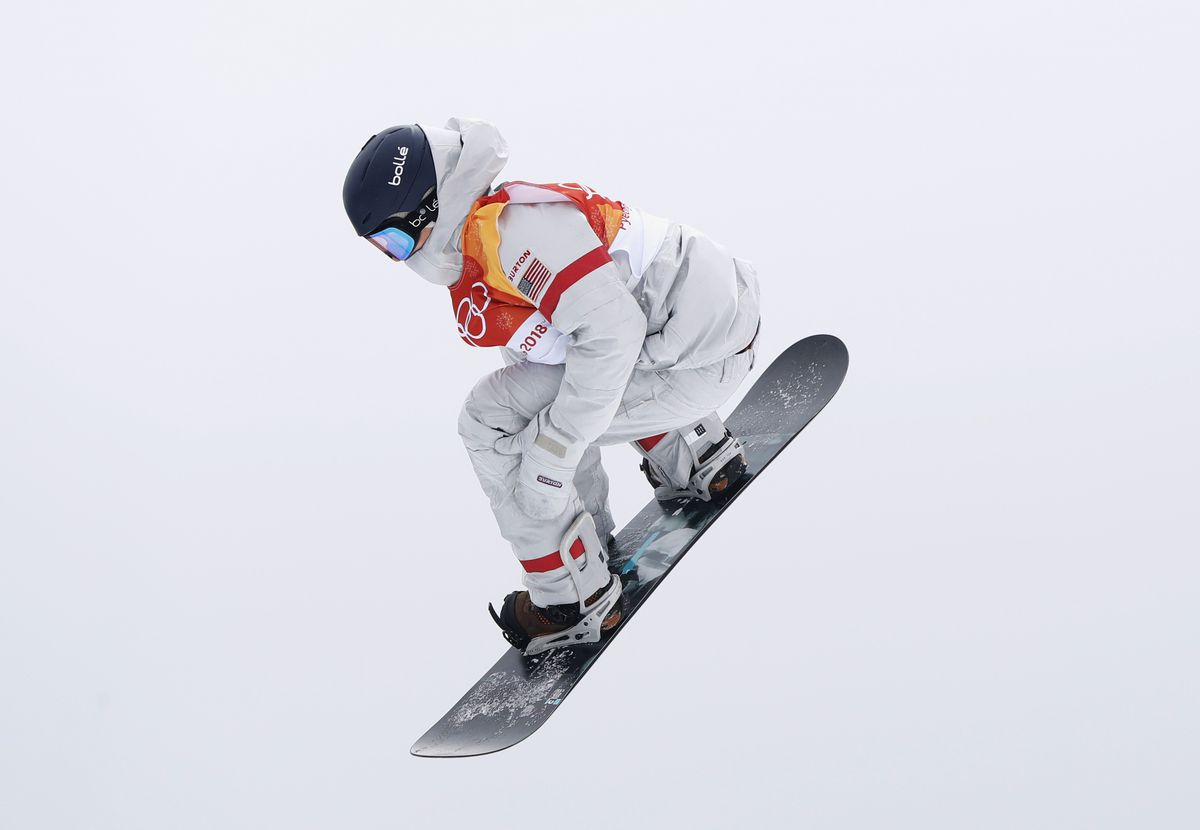 Ryan Stassel of Anchorage competes in men's slopestyle Friday at the Winter Olympics in Pyeongchang, South Korea. (Issei Kato / Reuters)