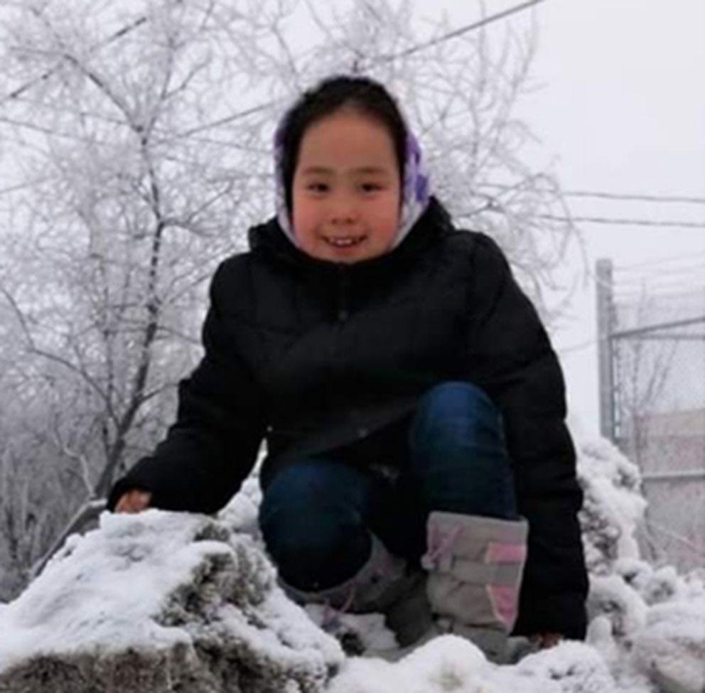 Ida Aguchak, 10, in an undated photo. (Courtesy Aguchak family)