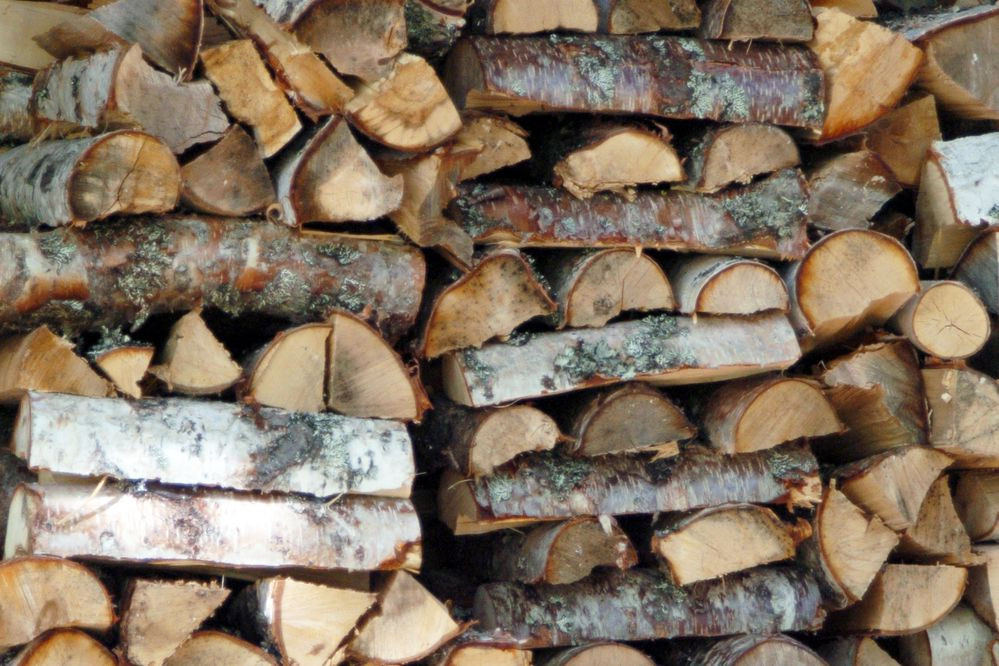 Gathering firewood may be seen as more than simply a chore. (Jim Lavrakas / ADN archive)