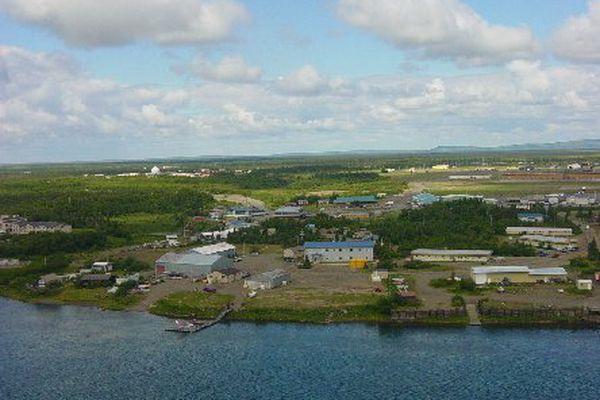 The village of King Salmon, Alaska (U.S. Fish and Wildlife Service photo)