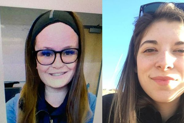 Jenna Pixey, left, and Angel Garcia, right, are missing in Nome Dec. 20, 2019. (Photos provided by Nome Police Department)