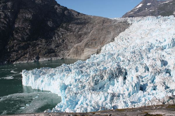 LeConte Glacier, a tidewater glacier about 25 miles from Petersburg. (Photo by Roman Motyka)