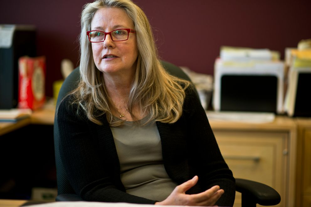 Judge Catherine Easter is one of two judges who oversee the Anchorage Wellness Felony Drug Court. She said Vivitrol has been part of that program since 2013. (Marc Lester / Alaska Dispatch News)