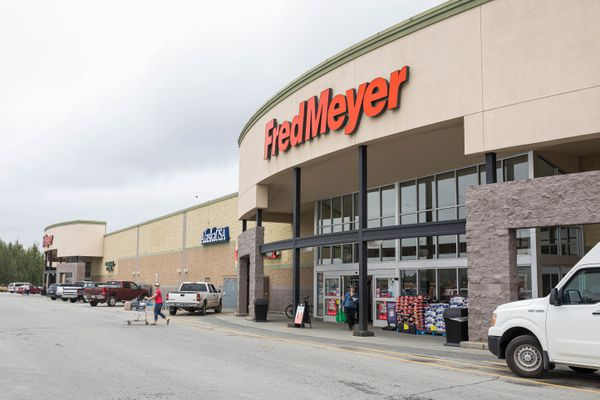 The Wasilla Fred Meyer, photographed Wednesday, Aug. 14, 2019. (Loren Holmes / ADN)