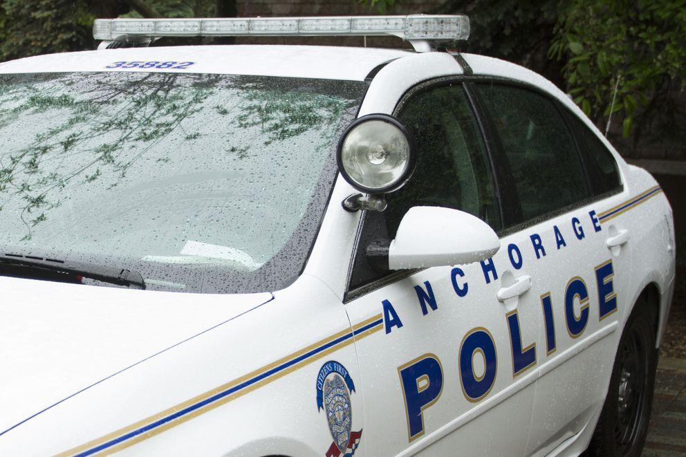 Anchorage Police Department Monday, June 6, 2016. (Sarah Bell / Alaska Dispatch News)