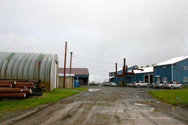 Alaska Village Electric Coopertive runs the power plant in Bethel, Alaska, as seen on Thursday, Aug. 25, 2016. (Lisa Demer / Alaska Dispatch News)