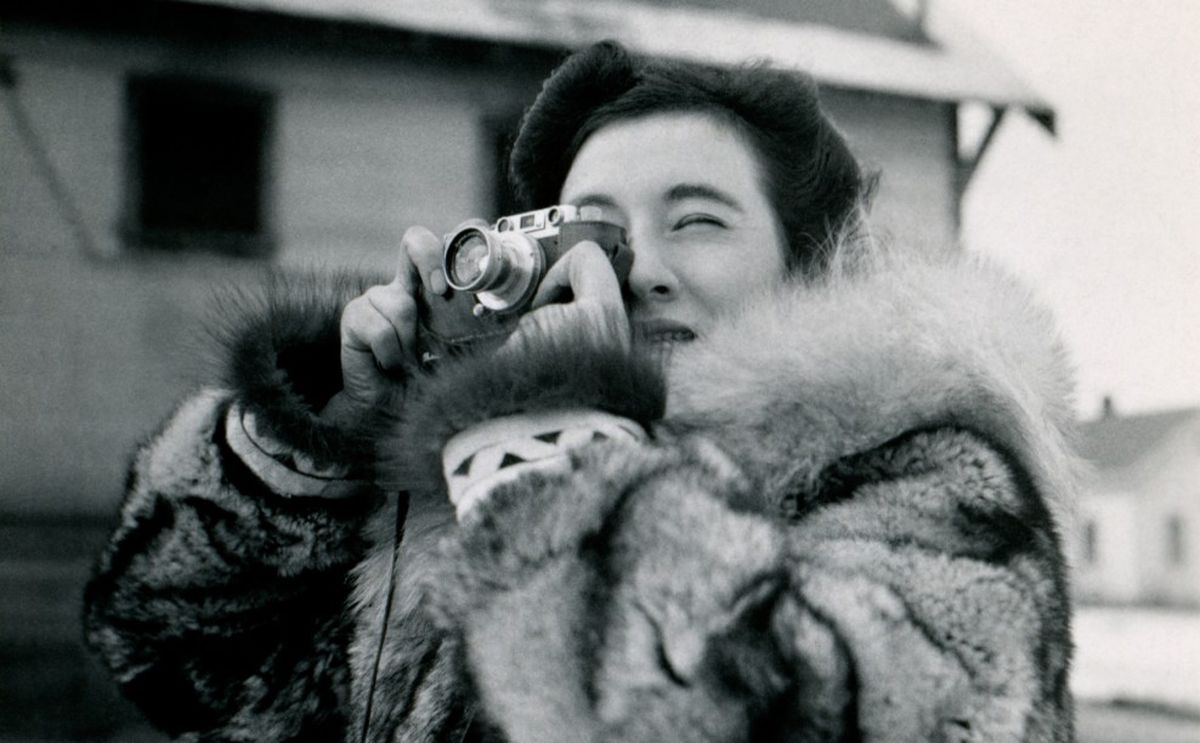 Ruth Gruber, a fearless researcher and adventurer, traveled all over Alaska in the early 1940s with her camera. (Reel Inheritance Films)