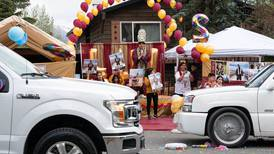 Anchorage car club revs up graduation celebrations, one rolling parade at a time