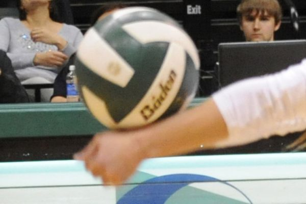 Northwest Nazarene defeated UAA 3-0 in volleyball action at the Alaska Airlines Center on Saturday, October 25, 2014.