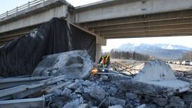 Rocket launches and allegations of government waste: The hidden story behind that Glenn Highway bridge wreck
