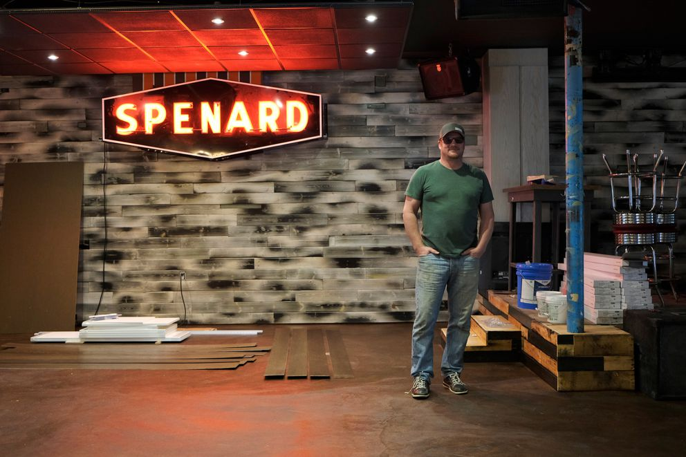 Hans Nowka, one of the owners of TapRoot, says the Spenard bar and live music venue is being remodeled and will be reopened as Route 33. Nowka said Route 33 will focus more on food. (Marc Lester / Alaska Dispatch News)