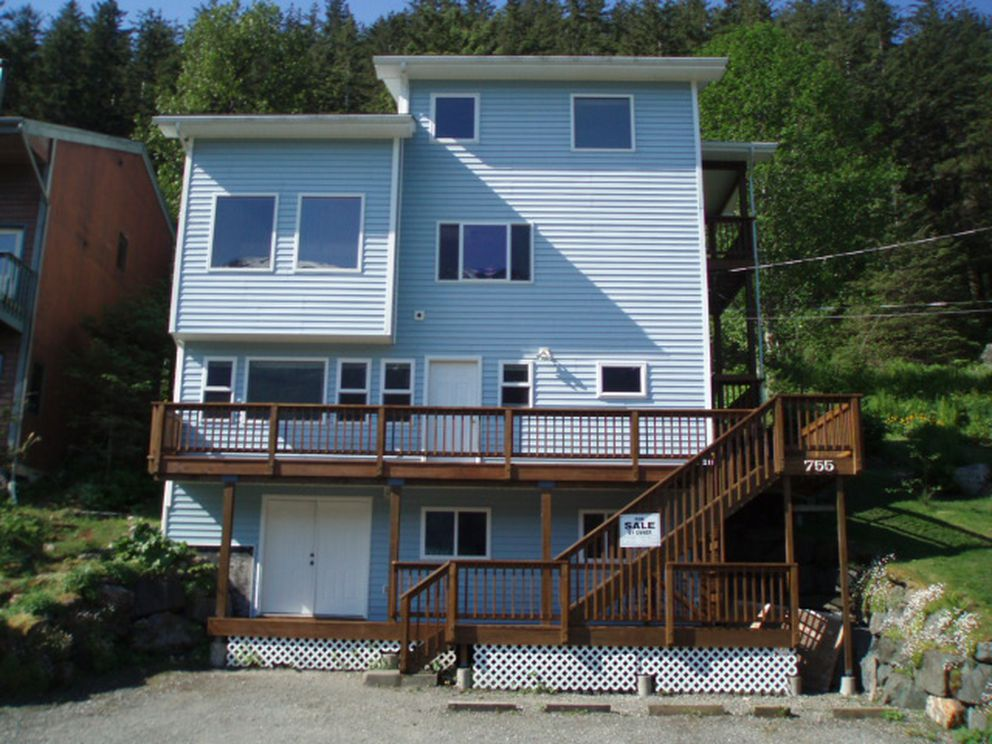 Since 2015, the city of Juneau has offered $6,000 grants to homeowners who want to build apartment additions or backyard cottages. Officials hope it will help add to the city's housing supply. In this case, an apartment with its own kitchen and living area was built on the bottom floor of an existing house. (Photo provided by City and Borough of Juneau)