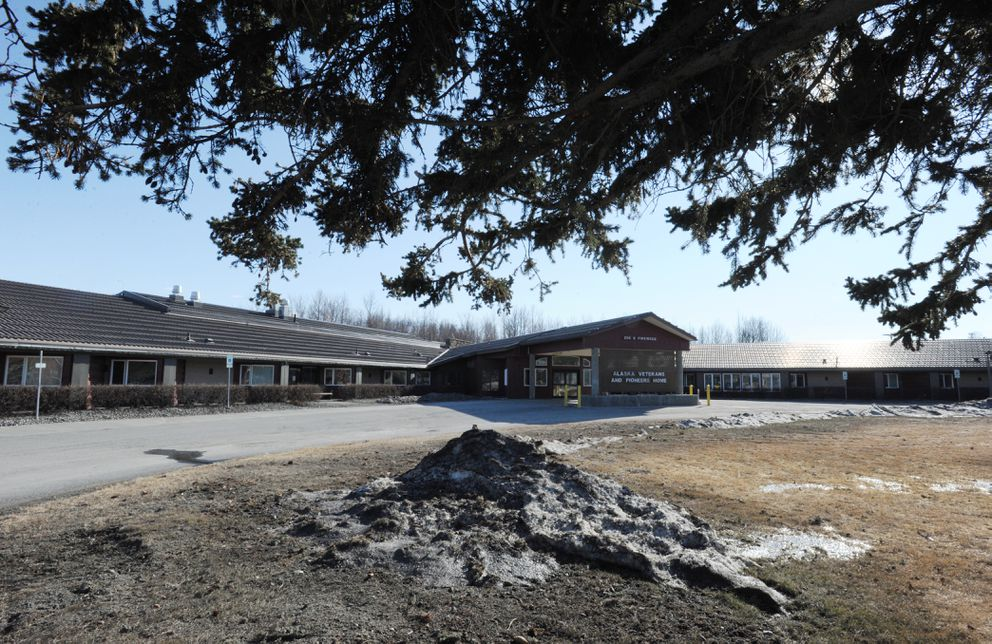Palmer's Pioneers Home on Tuesday, April 11, 2017, is a target in the political budget battle. (Bill Roth / Alaska Dispatch News)
