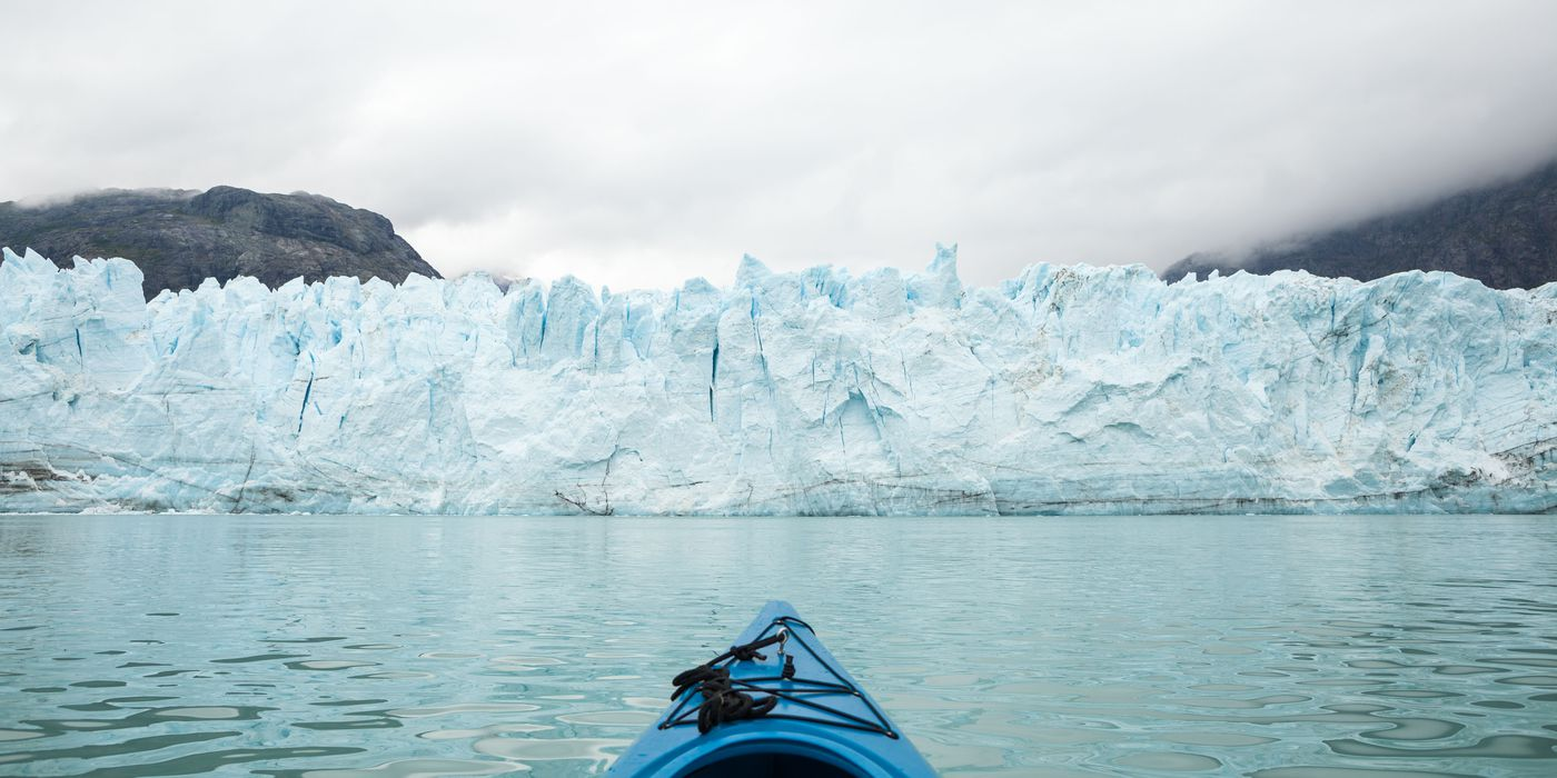 Margerie Glacier in Glacier Bay National Park, Aug. 24, 2011. (Loren Holmes / Alaska Dispatch News)