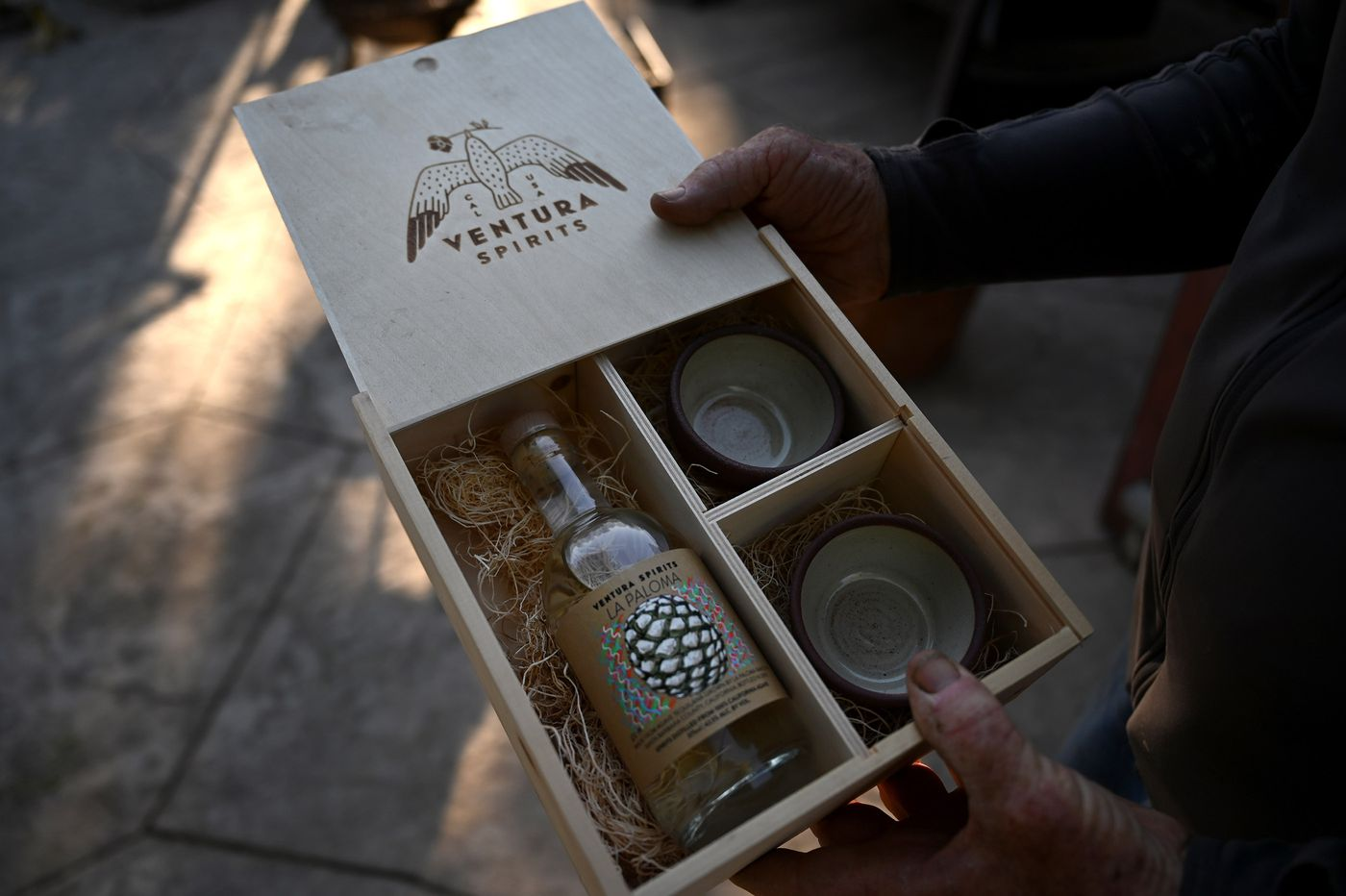 A small Ventura distillery has started selling liquor made from La Paloma's agave, the latest craft offering added to southern California's homegrown wine and beer. Washington Post photo by Michael Robinson Chavez