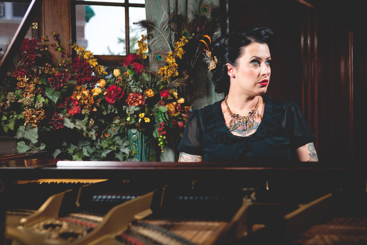Davina and the Vagabonds will perform Friday in Anchorage. (Photo by Garrett Born)