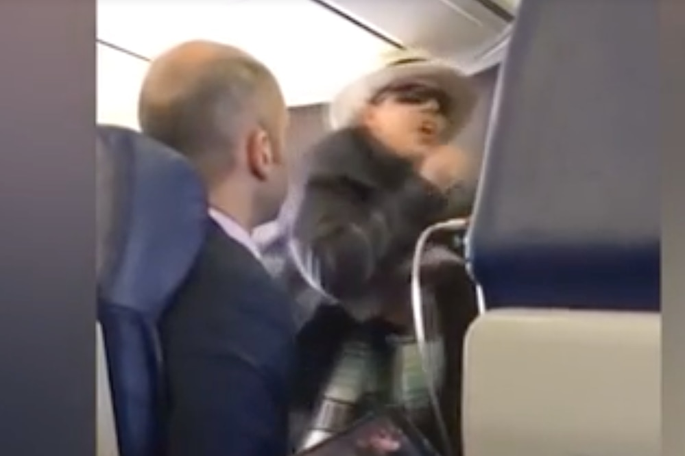 Screengrab southwest airlines incident
