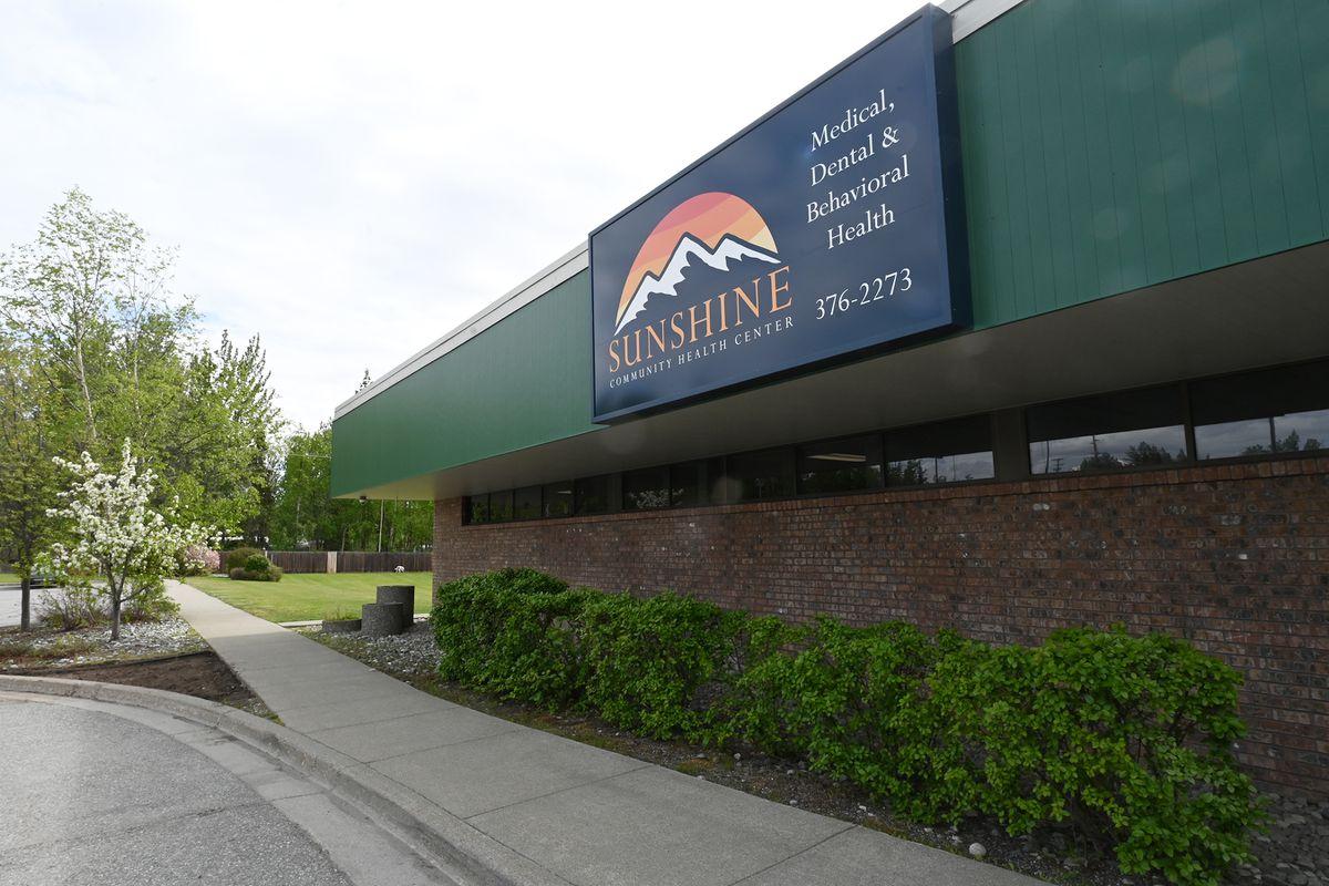 Sunshine Community Health Center's newest office in Wasilla on Wednesday, June 2, 2021. (Bill Roth / ADN)