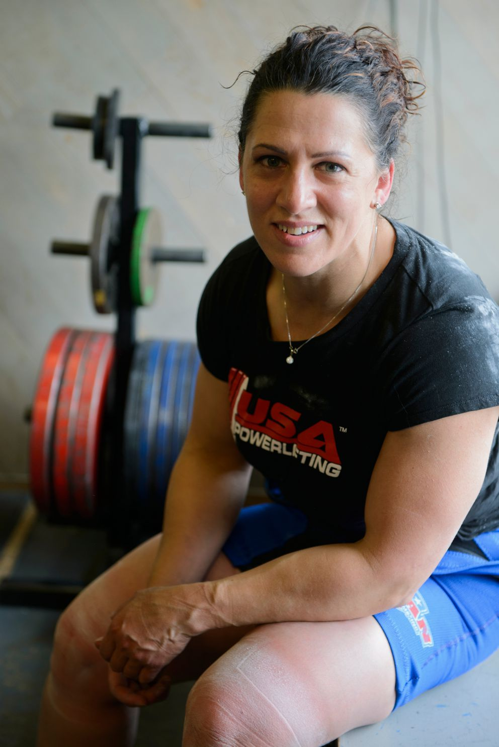 Priscilla Ribic has won 15 world championships in her Hall of Fame powerlifting career and currently holds four world records. (Marc Lester / Alaska Dispatch News)