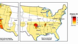 7 million Americans at risk of man-made earthquakes, USGS says