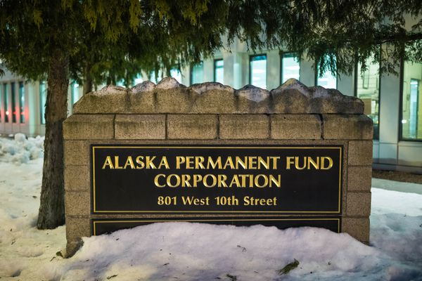 The Alaska Permanent Fund Corporation building, photographed on Thursday, Jan. 17, 2019 in Juneau. (Loren Holmes / ADN)