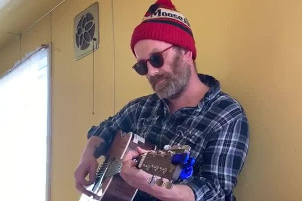 Jonathan Bower performs