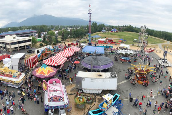The Eagle River Bear Paw Festival on Saturday, July 13, 2019. (Matt Tunseth / Chugiak-Eagle River Star)