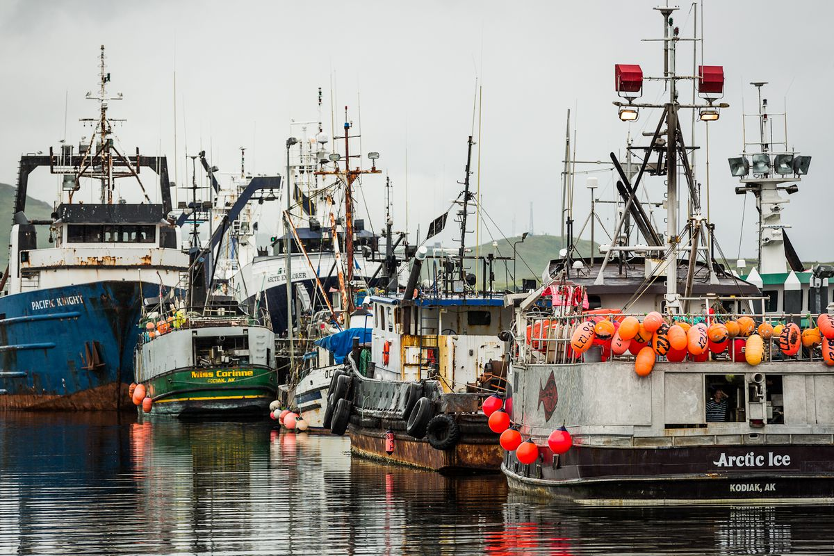 Dutch Harbor, in Unalaska, has been the No. 1 fishing port in the nation in terms of the amount of seafood landed for more than 20 years. (Loren Holmes / ADN archive 2012)