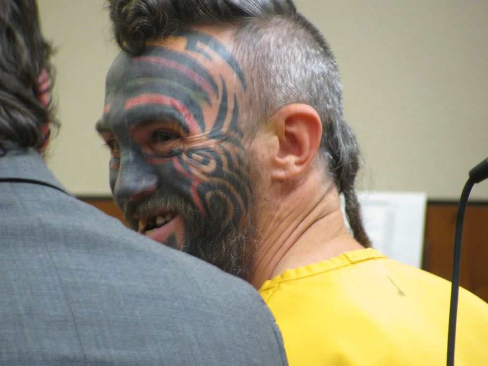In this Nov. 24, 2015 photo, Daniel Lloyd Selovich, 37, of Manley Springs, is arraigned in Superior Court in Fairbanks. (AP Photo/Fairbanks Daily News-Miner, Dorothy Chomicz)