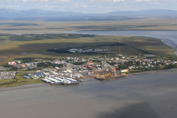 This 2013 file photo shows an aerial view of Dilligham. The city has refiled a petition to annex the Nushagak commercial fishing district with the Local Boundary Commission.