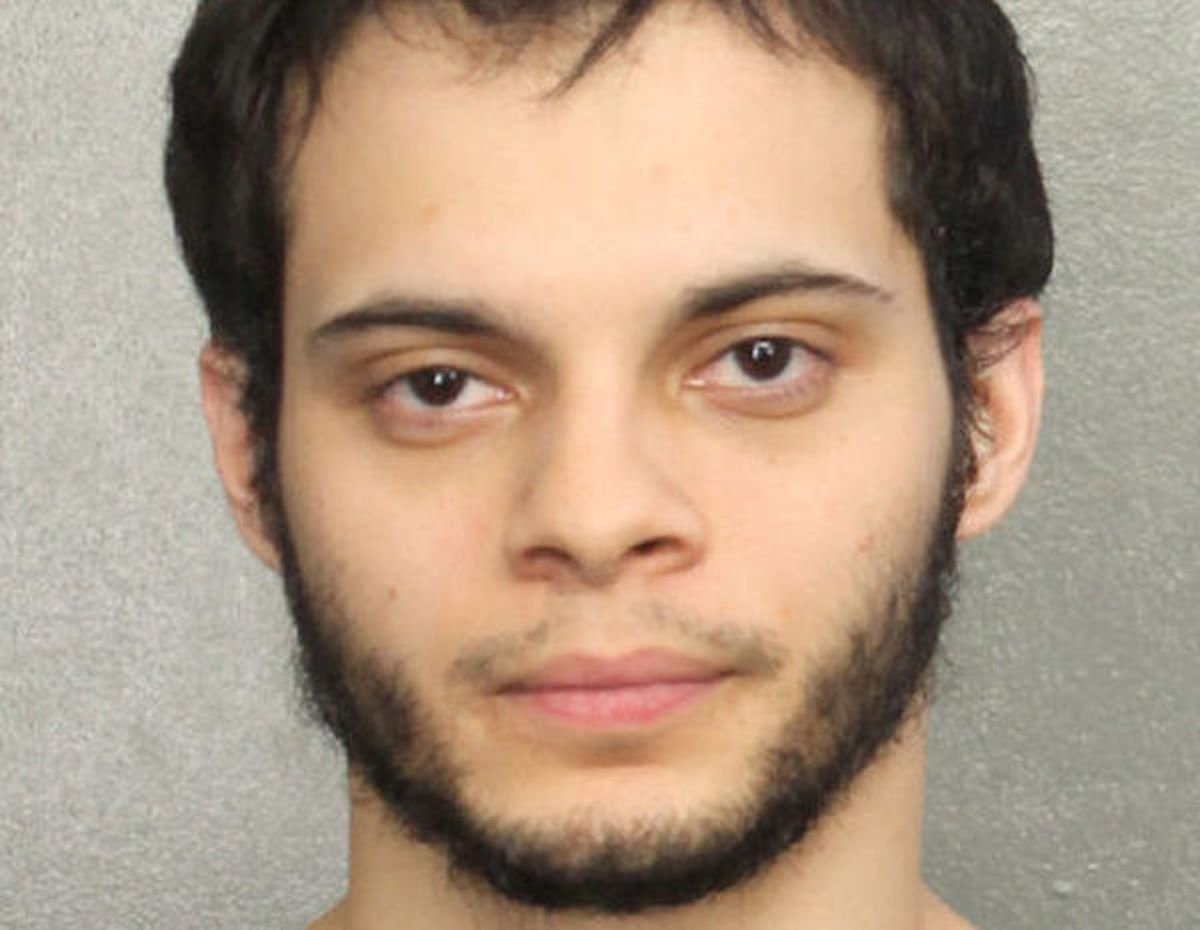 Esteban Santiago, is shown in this booking photo provided by the Broward County Sheriff's Office in Fort Lauderdale, Florida, January 7, 2017. (Broward County Sheriff's Office/Handout via Reuters)