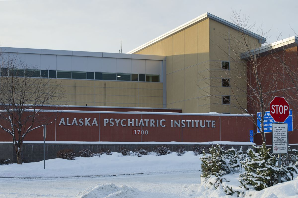 Alaska Psychiatric Institute, photographed on February 8, 2019. (Marc Lester / ADN)