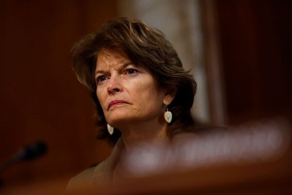 Chairwoman Lisa Murkowski, R-Alaska, speaks during a hearing of the Senate Committee on Energy and Natural Resources on Capitol Hill in Washington, March 13, 2018. (Eric Thayer / Reuters)