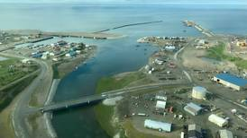 With sea ice still melting, vessels doing Arctic transits stop at Nome late in season