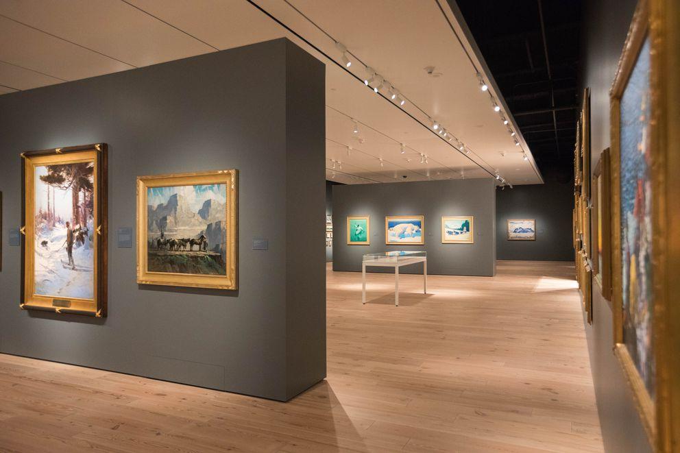 The Anchorage Museum's new Rasmuson Wing (Loren Holmes / Alaska Dispatch News)