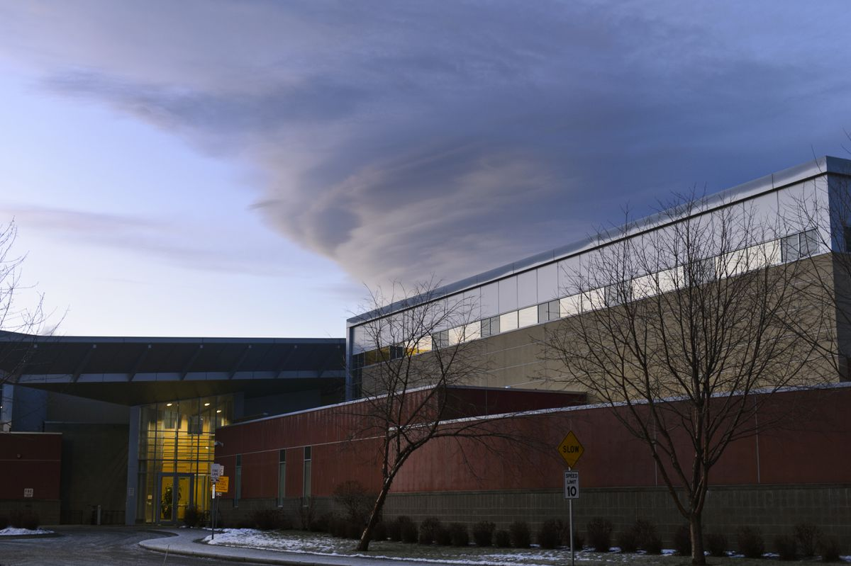 Alaska Psychiatric Institute is located on Piper Street in Anchorage. Photographed December 12, 2019. (Marc Lester / ADN)