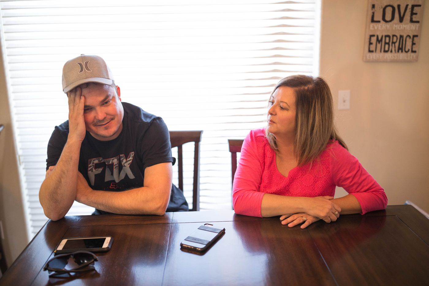 South Anchorage residents Chad and Candis Martin recount the story of how they had their truck, ATV, boat, cash and guns stolen in June, and the response they received from police and social media. (Loren Holmes / Alaska Dispatch News)