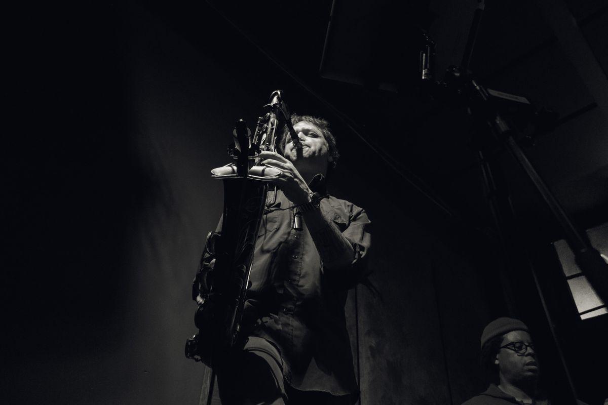 Saxophone player Skerik will perform with Stanton & Skerik's Emerald Quintet at Bear Tooth Theatrepub.