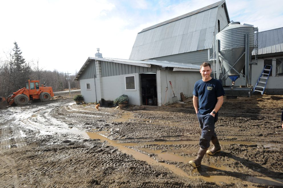 Ty Havemeister runs a dairy farm which has been in his family since the 1930s. Photographed March 22, 2019. (Anne Raup / ADN)