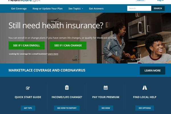 Affordable Care Act healthcare.gov