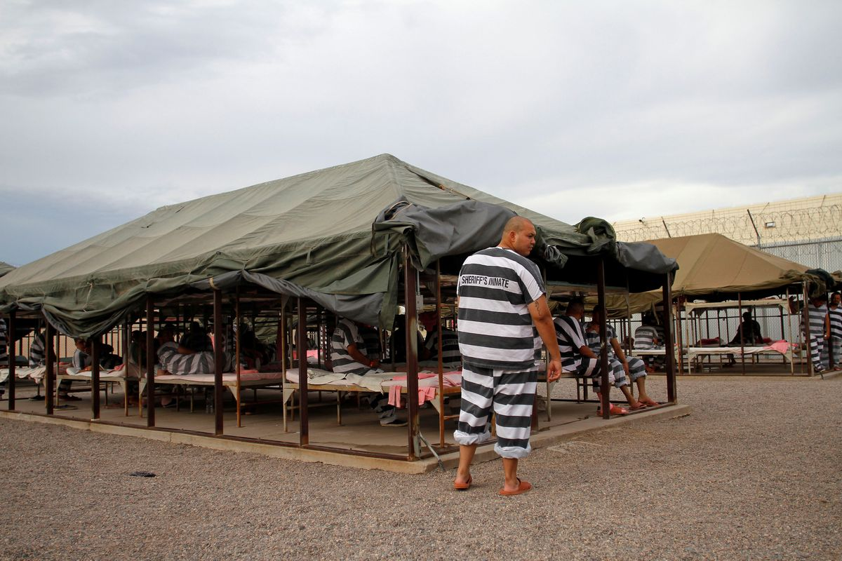 New Arizona Sheriff To Close Outdoor Tent Jail Of Pink